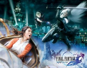 Promotional image for Final Fantasy XR Ride