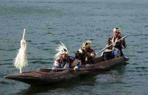 Photo: Catrina Caira at Lake Akan Marimo Festival