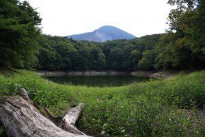 One of the many ponds at Juniko on the northwest edge of Shirakami Sanchi Photo by: Reid Bartholomew