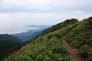 View from the top of Shirakami-dake. Photo by: Reid Bartholomew