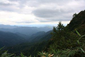 A brief respite from the rain at Fujisatokomaga-take. Photo by: Reid Bartholomew
