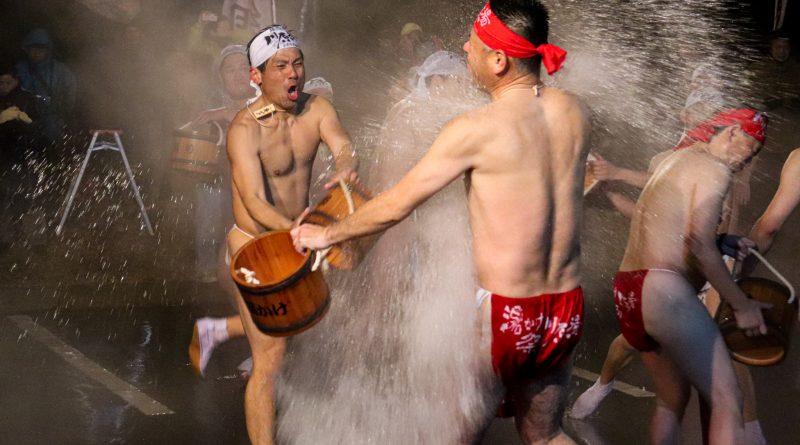 Kawarayu Onsen Yukake Festival