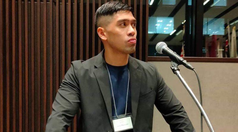 Carlo Marasigan, present head of JETAA-Philippines