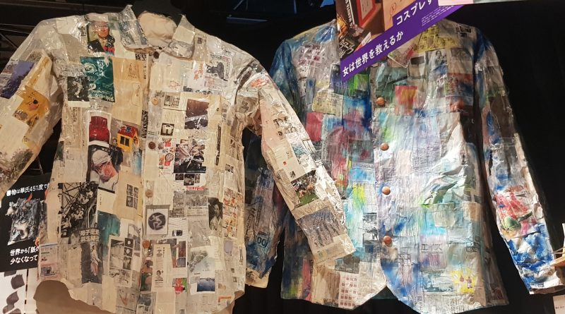 Shirts sculpted out of 2020 world news photos